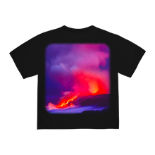 "Load image into Gallery viewer, ""HAZARD"" T-SHIRT - BLACK/REFLECTIVE"
