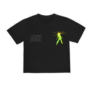 """LIGHT"" T-SHIRT - BLACK/GLOW/REFLECTIVE"