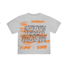 "Load image into Gallery viewer, ""PROGRAM"" T-SHIRT - HEATHER/ORANGE/REFLECTIVE"