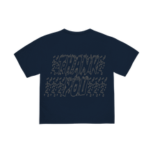 "Load image into Gallery viewer, ""TRUTH"" T-SHIRT - NAVY/REFLECTIVE"