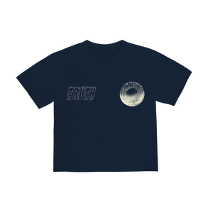 """TRUTH"" T-SHIRT - NAVY/REFLECTIVE"