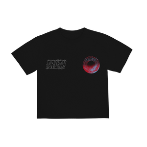 """TRUTH"" T-SHIRT - BLACK/REFLECTIVE"