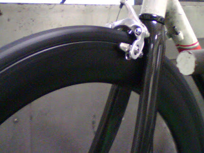 FLO Cycling – Carbon Clincher Brake Track Testing
