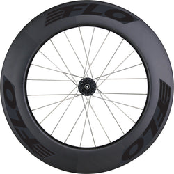 Front FLO 90 Carbon Clincher - 6-Bolt Disc Brake - Stealth Black Stickers