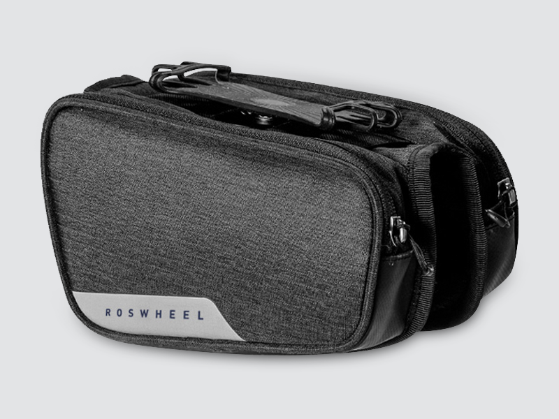 Essentials Double Toptube Bag with Smartphone Holder