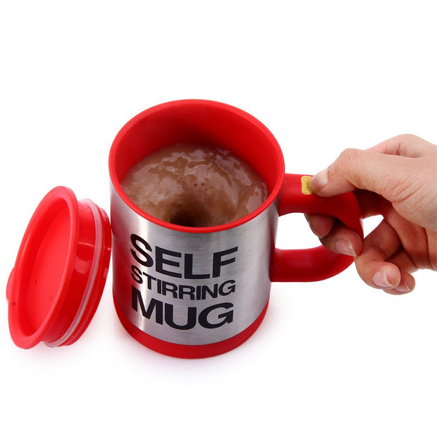 Self Stirring Insulating Coffee Mug - Futurefficiency