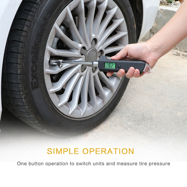 Digital Tire Pressure Gauge - Futurefficiency