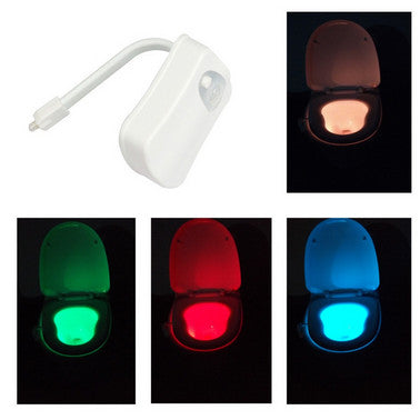 Motion Activated Toilet Night Light - Futurefficiency