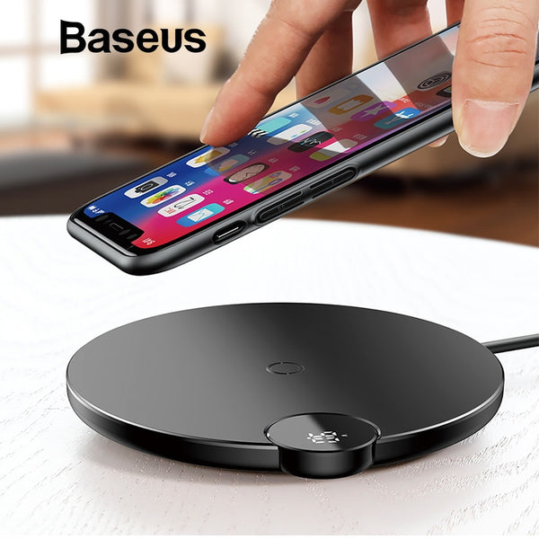 Digital Display Wireless Charger - Futurefficiency
