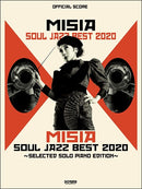 Official Piano Score Misia Soul Jazz Best 2020-Selected Solo