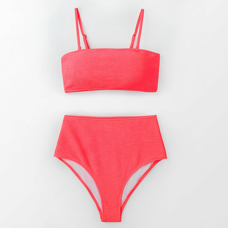 Maillot 2 pièces Rose