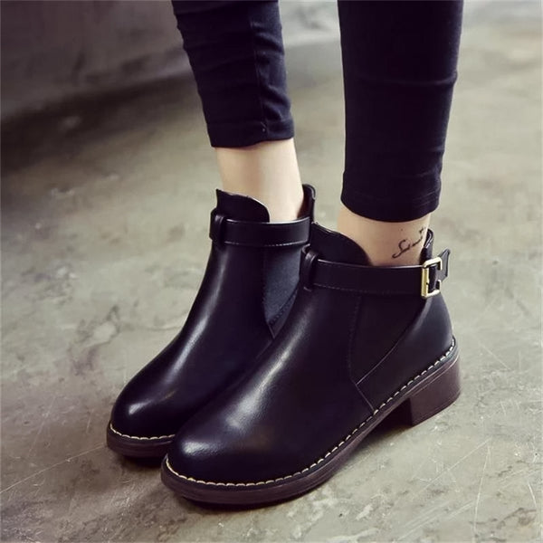 Bottines à boucles - belloyer.com