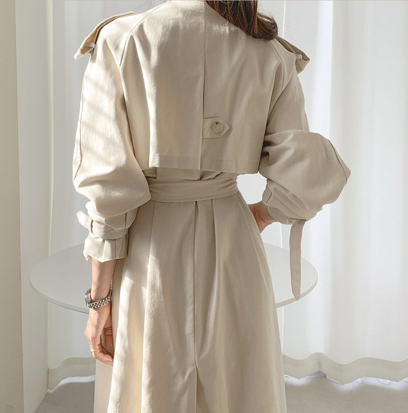 Trench Coat Laine et Coton