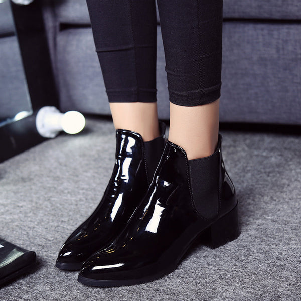 Bottines Vernies