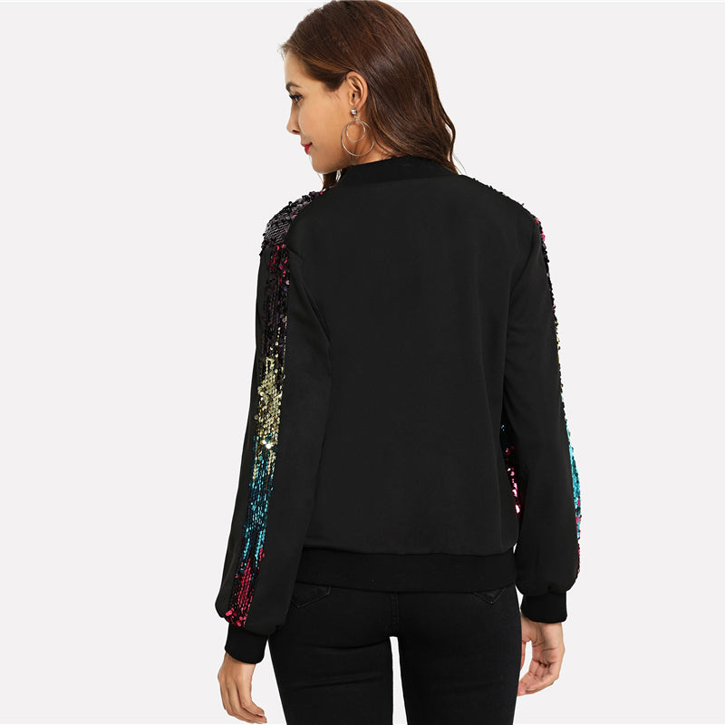 Bombers à Sequins