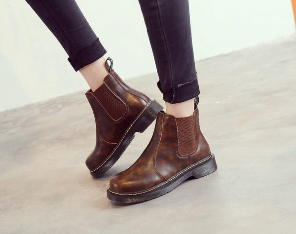 Bottines en Cuir Vegan | Belloyer-Paris