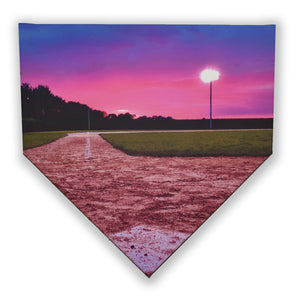 Sunset From Home Plate Canvas Print