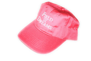 Girls Pink Adjustable Cap