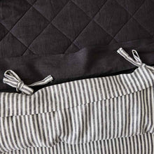 Load image into Gallery viewer, Everything Bed Linen Set - Ink + Shadow Stripe