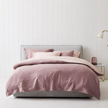 Load image into Gallery viewer, Everything Bed Linen Set - Rosé + Blush