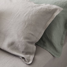 Load image into Gallery viewer, Everything Bed Linen Set - Sage + Stone