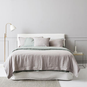 Everything Bed Linen Set - Sage + Stone