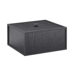 Frame 20 Storage Box - Black Ash