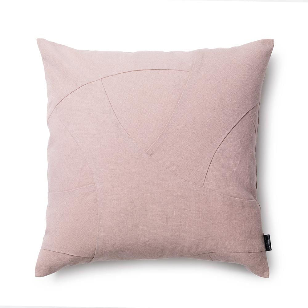 By Lassen Flow Cushion in Rose - Square
