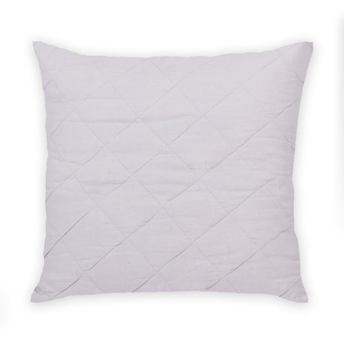 Diamond Quilted Pillow in Iris