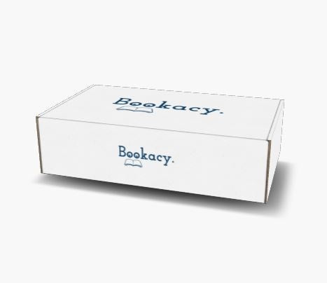 Bookacy Used Books Box - Gold - Bookish Merchandise - Gift for Booklovers - Book Merch - Reading Accessories - Bookacy - Books and More