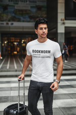 Bookworm - Short-Sleeve Men's T-Shirt - Bookish Merchandise - Gift for Booklovers - Book Merch - Reading Accessories - Bookacy - Books and More