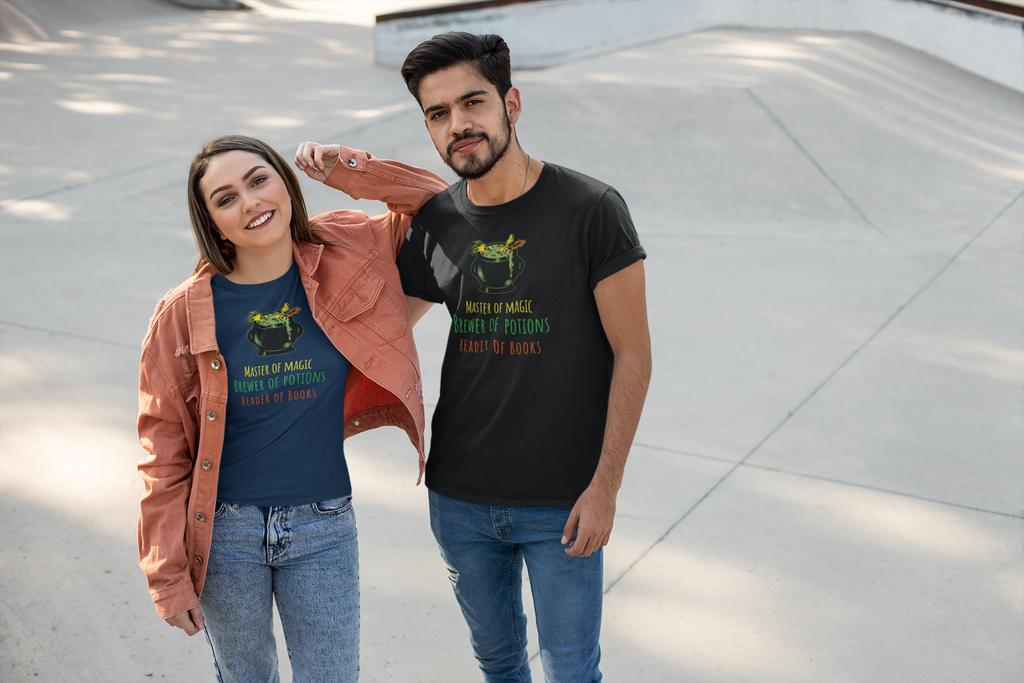 Master of Magic 2 - Short-Sleeve Unisex T-Shirt - Bookish Merchandise - Gift for Booklovers - Book Merch - Reading Accessories - Bookacy - Books and More