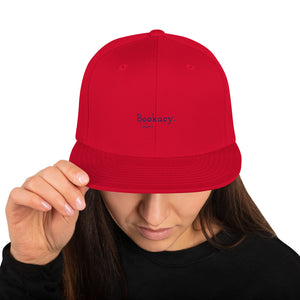 Snapback Hat - Bookish Merchandise - Gift for Booklovers - Book Merch - Reading Accessories - Bookacy - Books and More