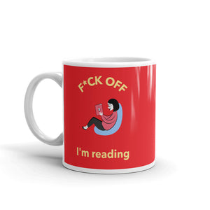 F*ck Off - Mug - Bookish Merchandise - Gift for Booklovers - Book Merch - Reading Accessories - Bookacy - Books and More