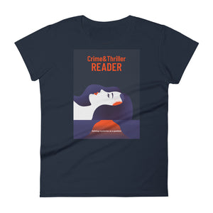 Crime Reader - Women's short sleeve t-shirt - Bookish Merchandise - Gift for Booklovers - Book Merch - Reading Accessories - Bookacy - Books and More