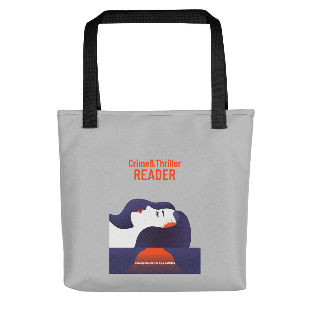 Crime Reader - Tote bag - Bookish Merchandise - Gift for Booklovers - Book Merch - Reading Accessories - Bookacy - Books and More