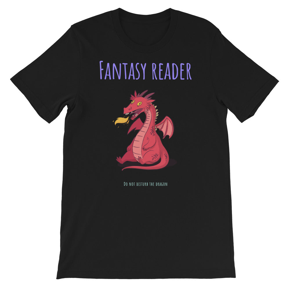 Fantasy Reader - Short-Sleeve Men's T-Shirt - Bookish Merchandise - Gift for Booklovers - Book Merch - Reading Accessories - Bookacy - Books and More