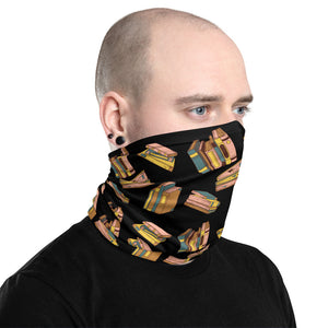 """Books Everywhere"" Unisex Neck Gaiter - Bookacy - Books and More"