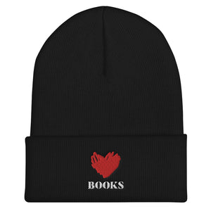 Love Books 2 - Beanie - Bookacy - Books and More