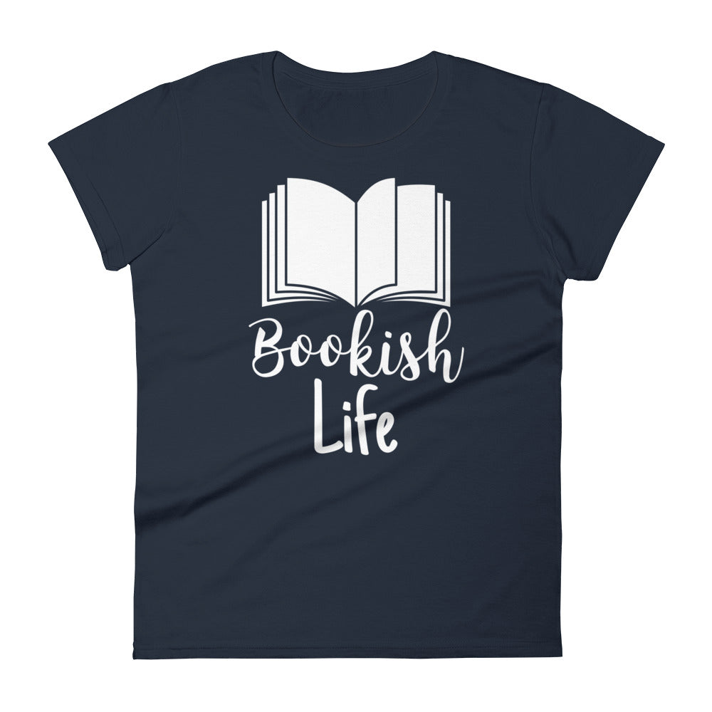 Bookish Life 2 - Women's short sleeve t-shirt - Bookacy - Books and More