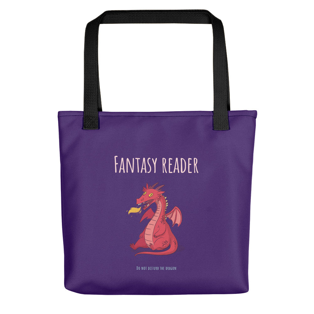 Fantasy Reader - Tote bag - Bookish Merchandise - Gift for Booklovers - Book Merch - Reading Accessories - Bookacy - Books and More