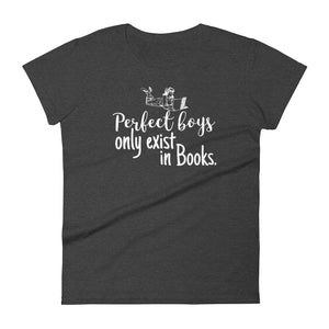 Perfect boys 2 - Women's short sleeve t-shirt - Bookish Merchandise - Gift for Booklovers - Book Merch - Reading Accessories - Bookacy - Books and More