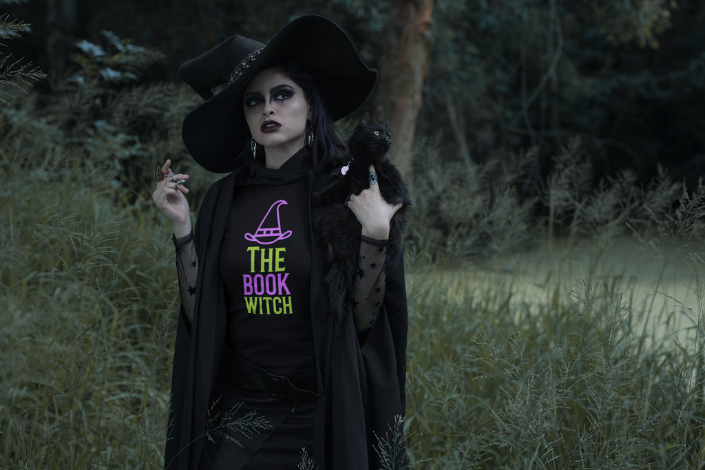 The Book Witch - Women's short sleeve t-shirt - Bookish Merchandise - Gift for Booklovers - Book Merch - Reading Accessories - Bookacy - Books and More