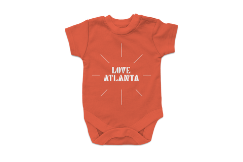 LOVE ATLANTA Onesie