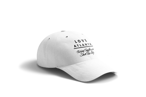LOVE ATLANTA Rising Together Dad Hat - White