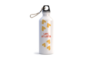 LOVE ATLANTA Water Bottle - White