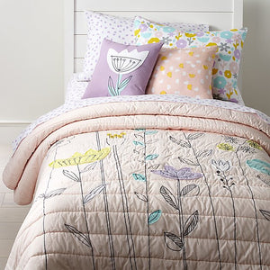 Crate and Barrel Girl's Quilt