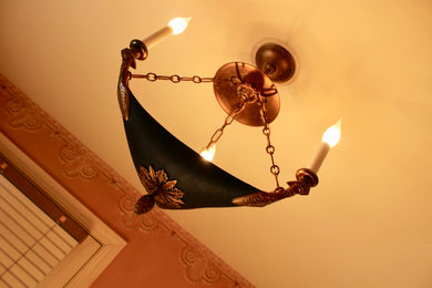 Art Deco Ceiling Light Fixture