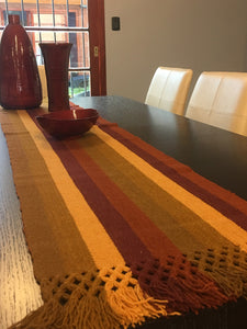 Loom-woven Table Runner `Belén´ | FREE SHIPPING