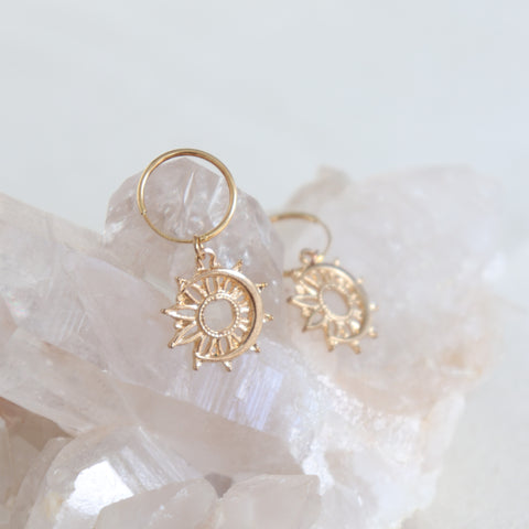 ella celestial hoop earrings